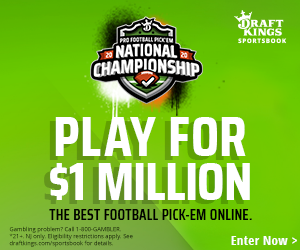 Enter DraftKings Pro Football Pick'em!